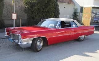 Cadillac DeVille Cabriolet (rot) Rent Niederösterreich