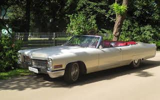 Cadillac DeVille Cabriolet (weiß) Rent Niederösterreich
